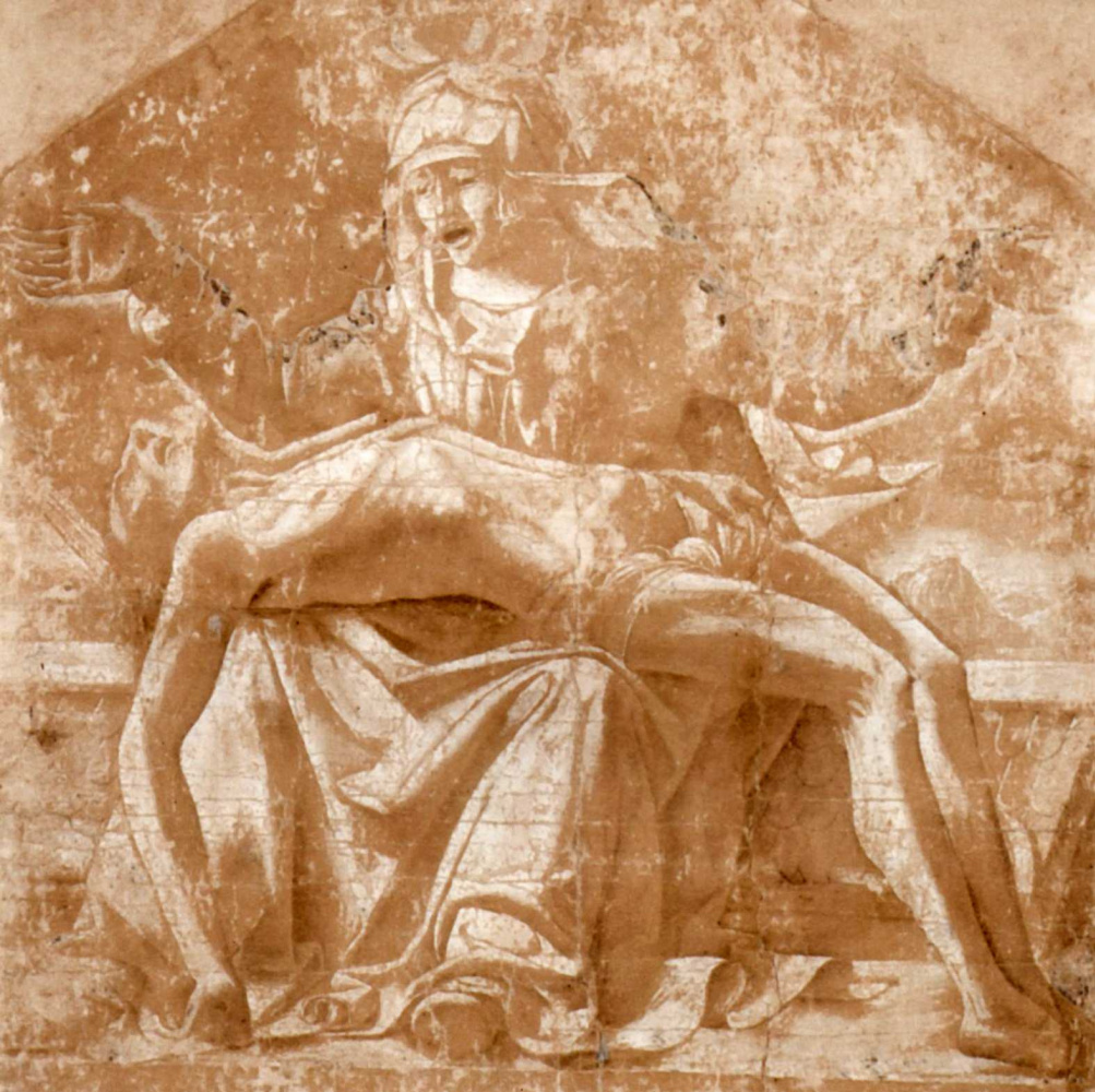 Johann Martin von Roden. Drawing artists in Rome