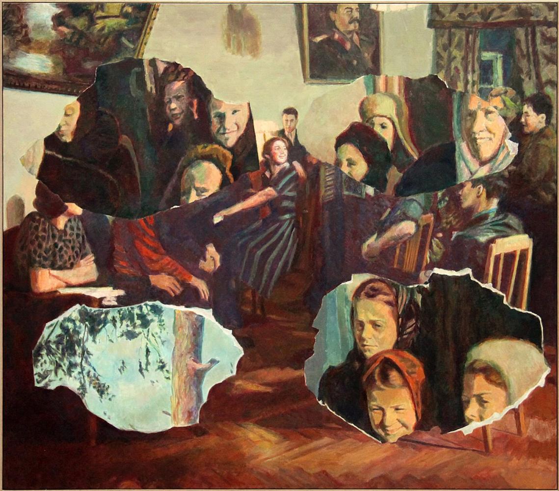 Ilya Iosifovich Kabakov. Collage of space #6