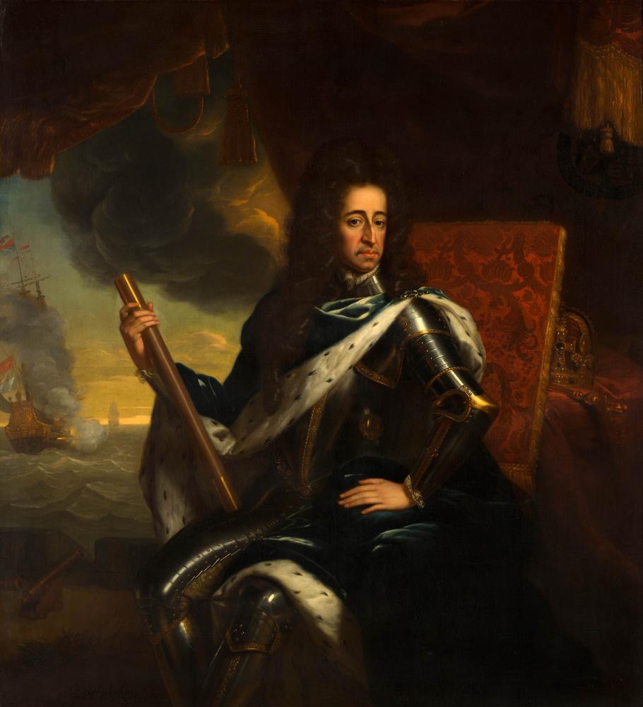 Годфрид Схалкен. Портрет Вильгельма III