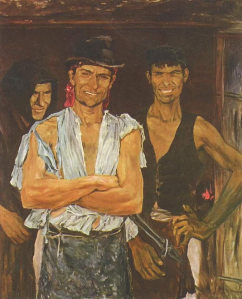 Ernst Josephson. Apprentice blacksmith, Spain