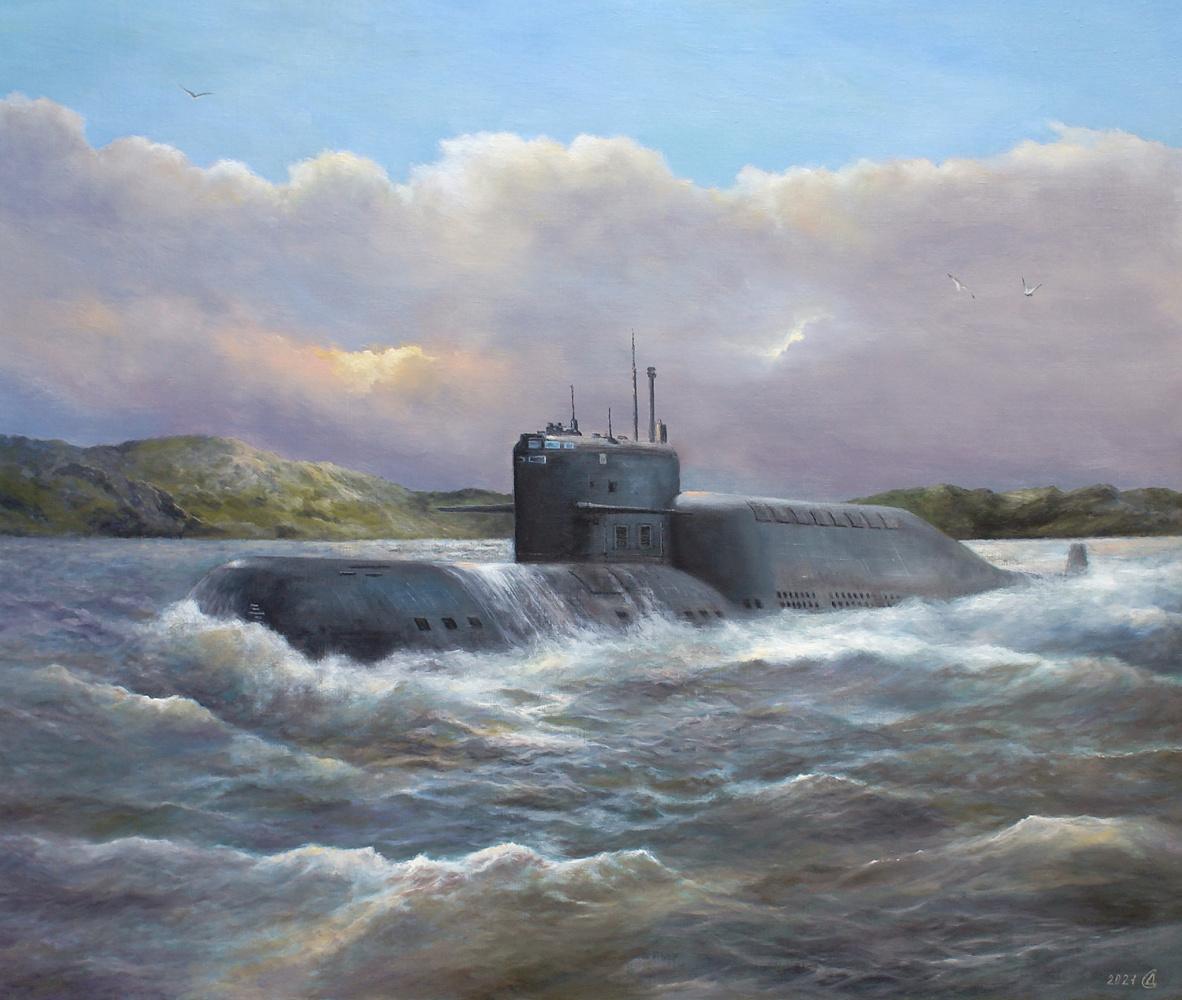 Сергей Владимирович Дорофеев. Underwater hunter