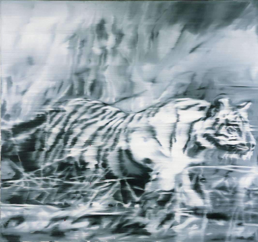 Gerhard Richter. Tiger