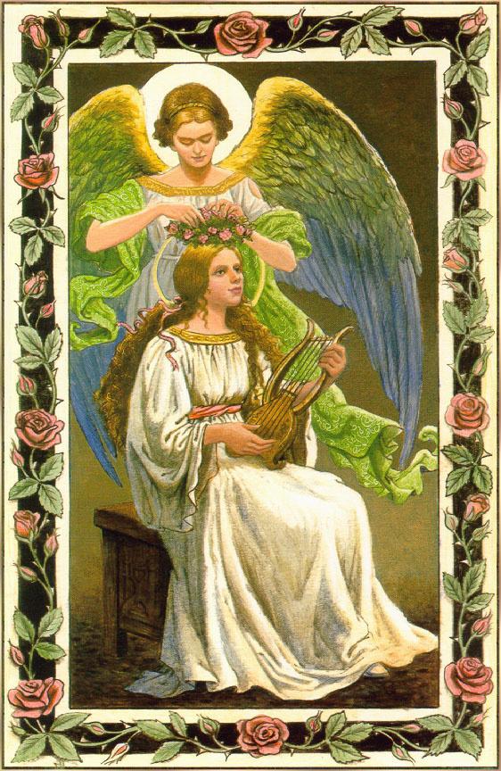 Рут Сандерсон. Ангел и венок из роз
