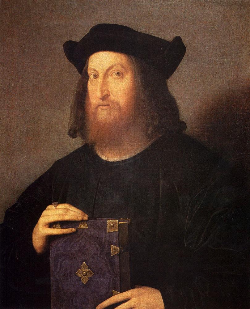 Vincenzo Di Biagio Catena. Portrait Of Gian Giorgio