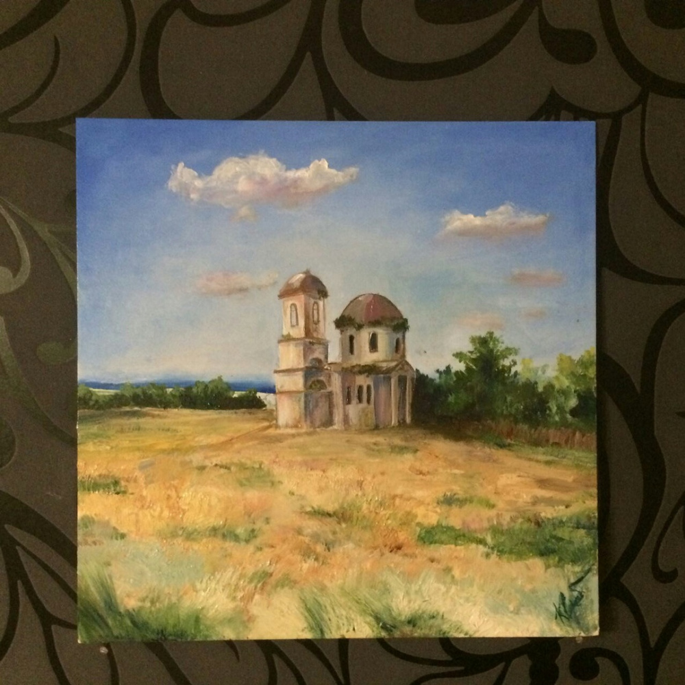 """Liana Kvyshko. """"Akhmat. Church of the Resurrection of Christ"""""""