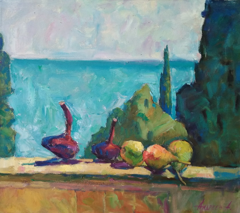 Unknown artist. Still life with onions