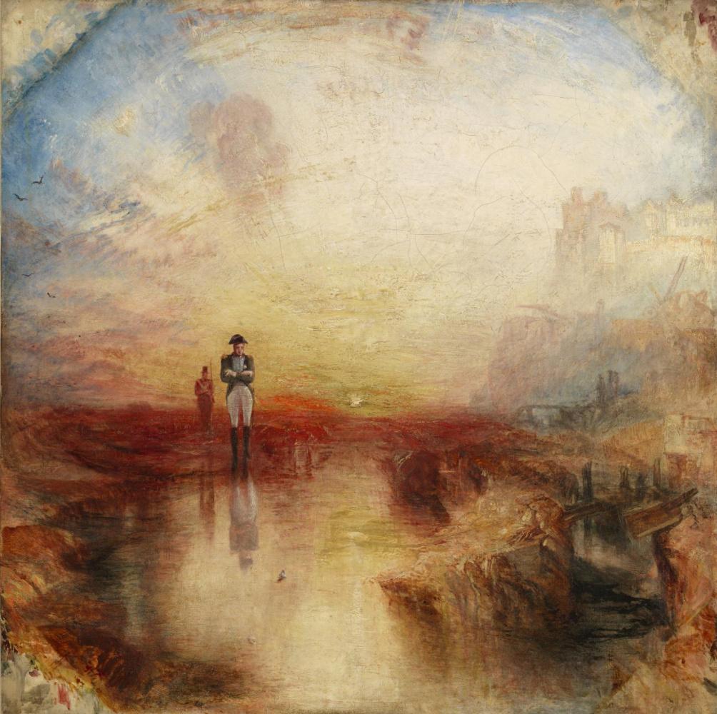 Joseph Mallord William Turner. War. Exile. Clam
