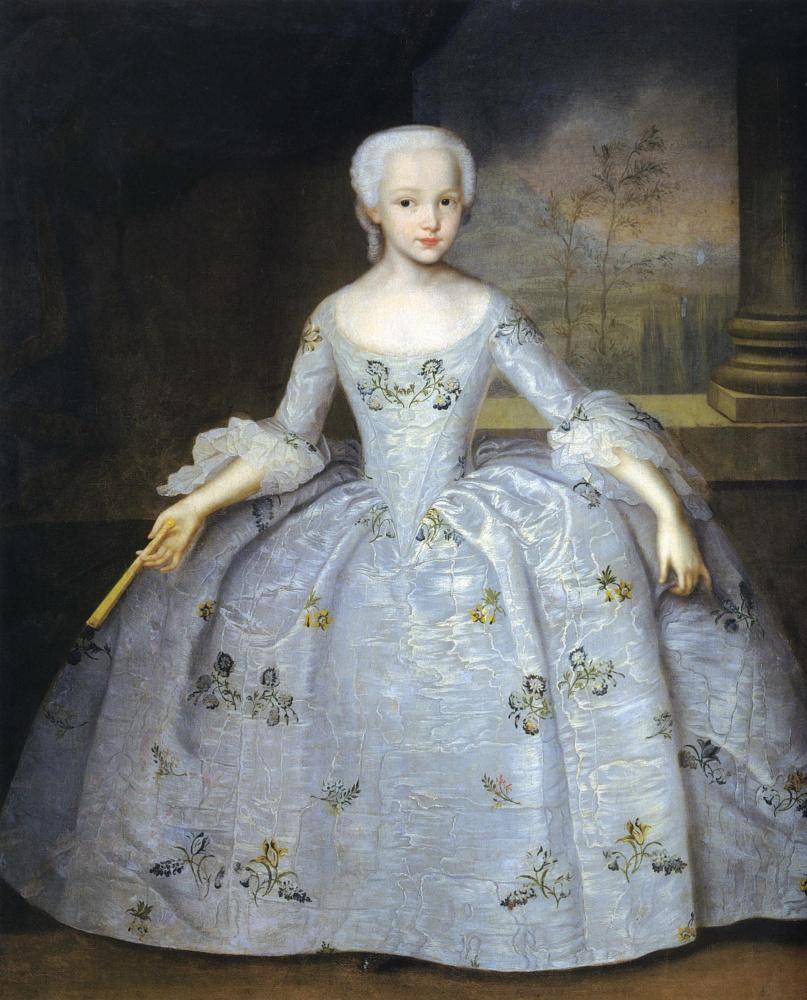 Ivan Yakovlevich Vishnyakov. Portrait of Sarah Eleonora Fermor