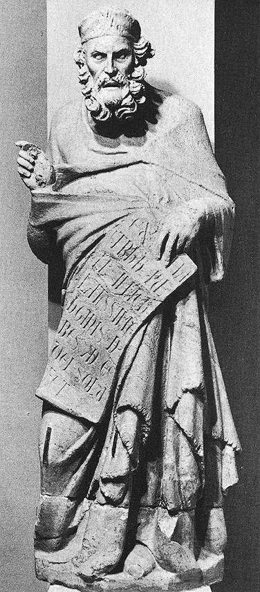 Giovanni Pisano. Plato