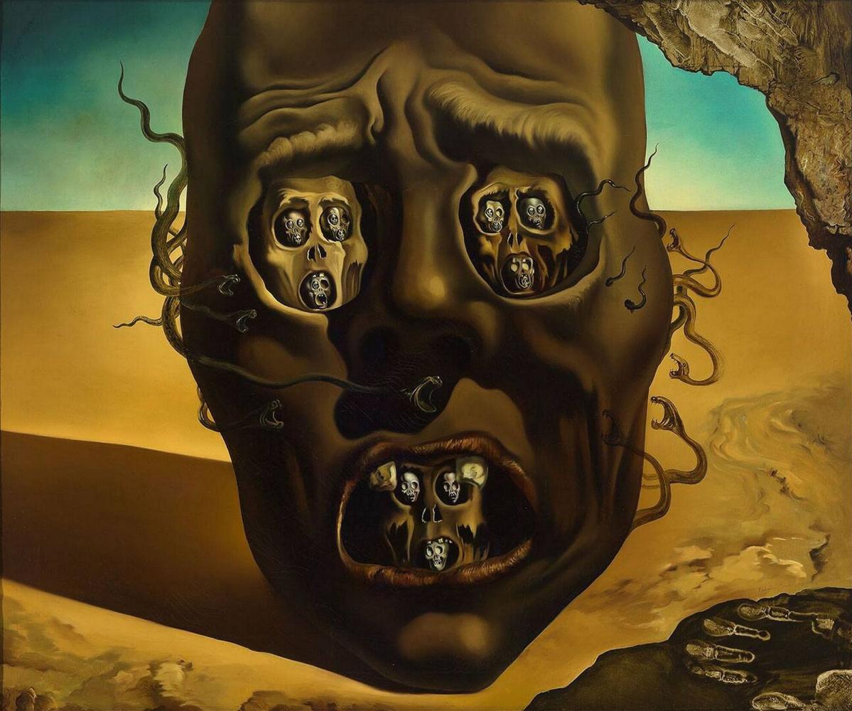Salvador Dali. Face of war