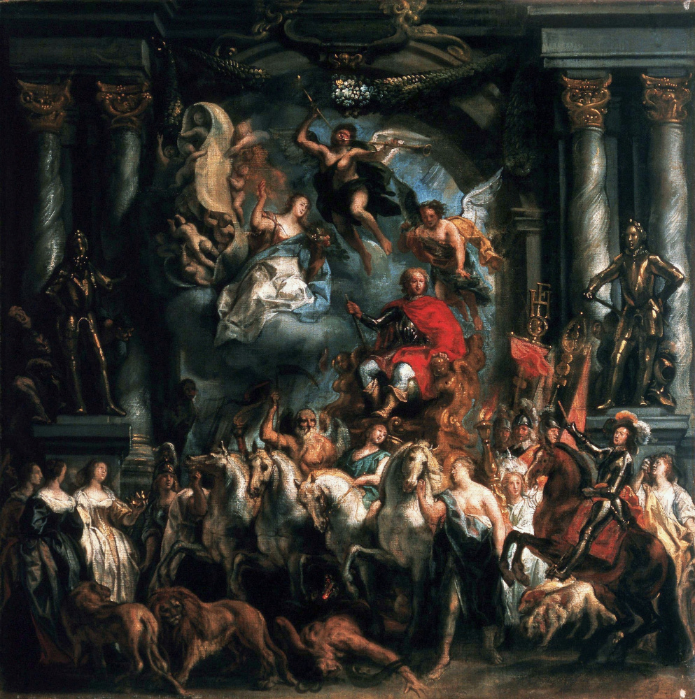 Jacob Jordaens. The Triumph of Prince Frederick-Heinrich of Orange
