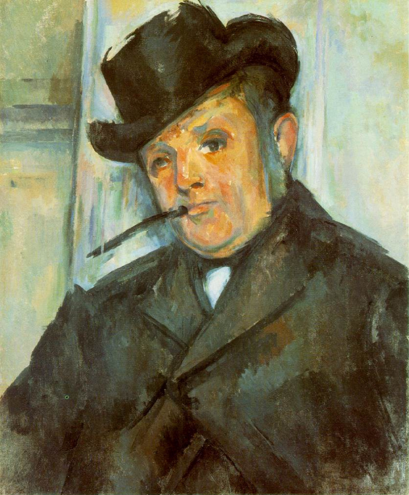 Paul Cezanne. Portrait Of Henri Gasquet