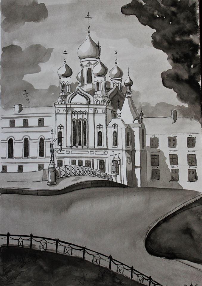 Varvara Nikolaevna Ivanova. Isidorov Church in St. Petersburg