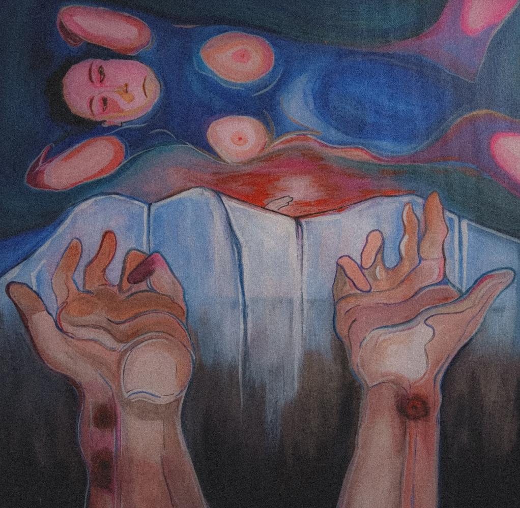 Mary Sharp. Руки