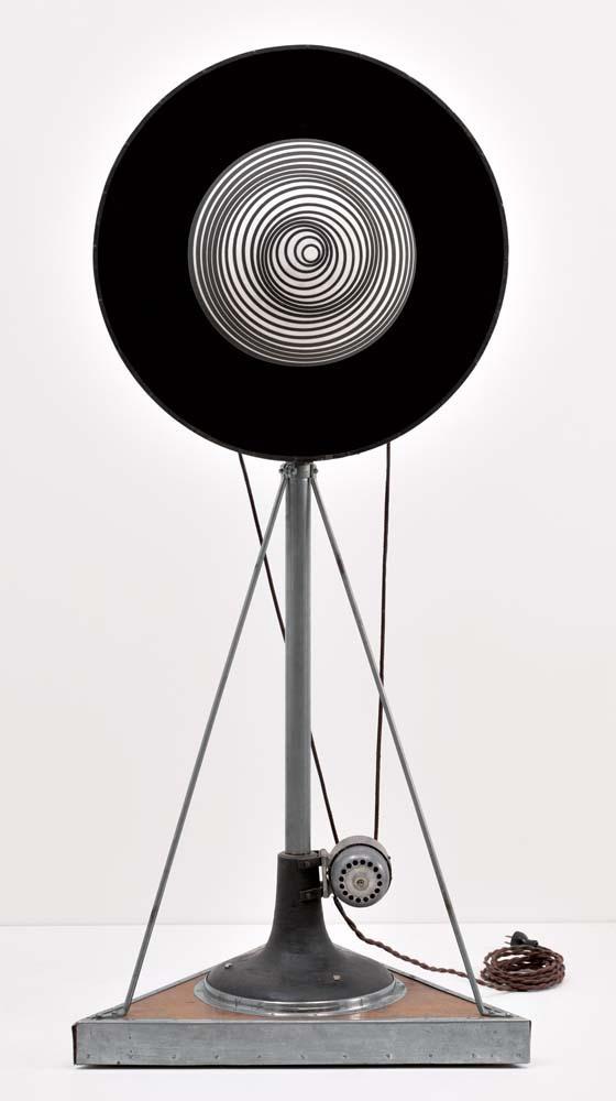 Marcel Duchamp. Rotating hemisphere