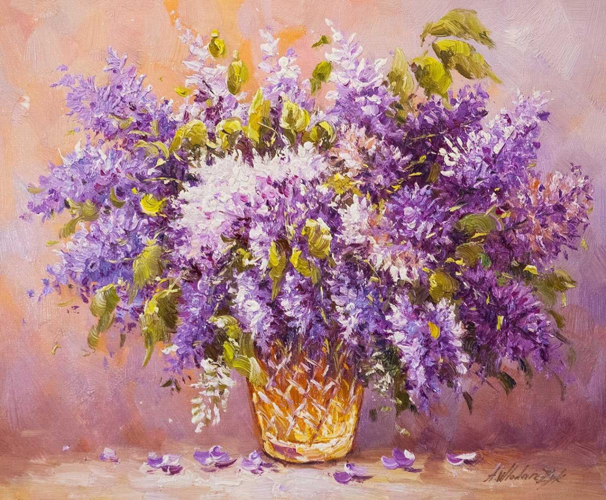 Andrzej Vlodarczyk. A bouquet of lilac