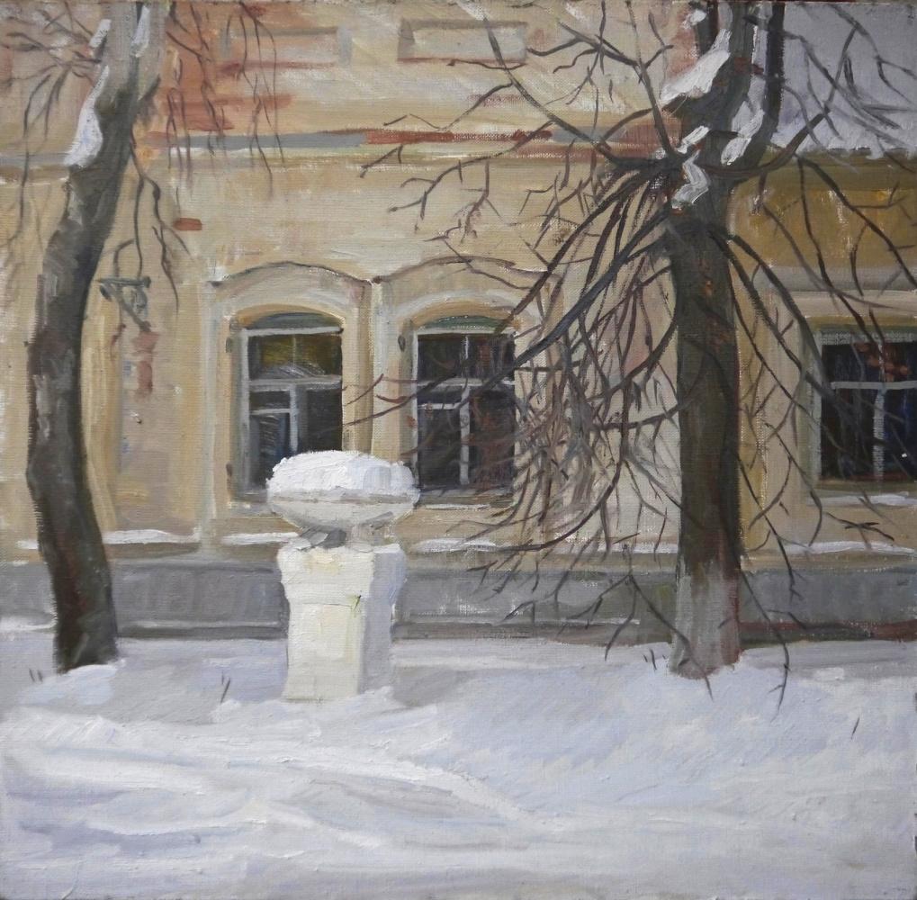 Lena Palenko. Winter sleep