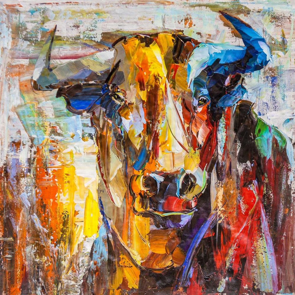 Jose Rodriguez. A bull named Taurus