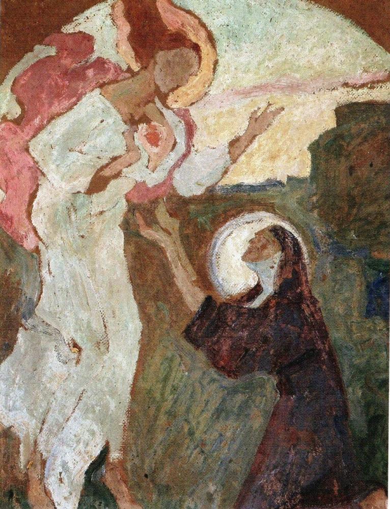 Алексей (Олекса) Новаковский. Сердце Иисуса. Эскиз композиции