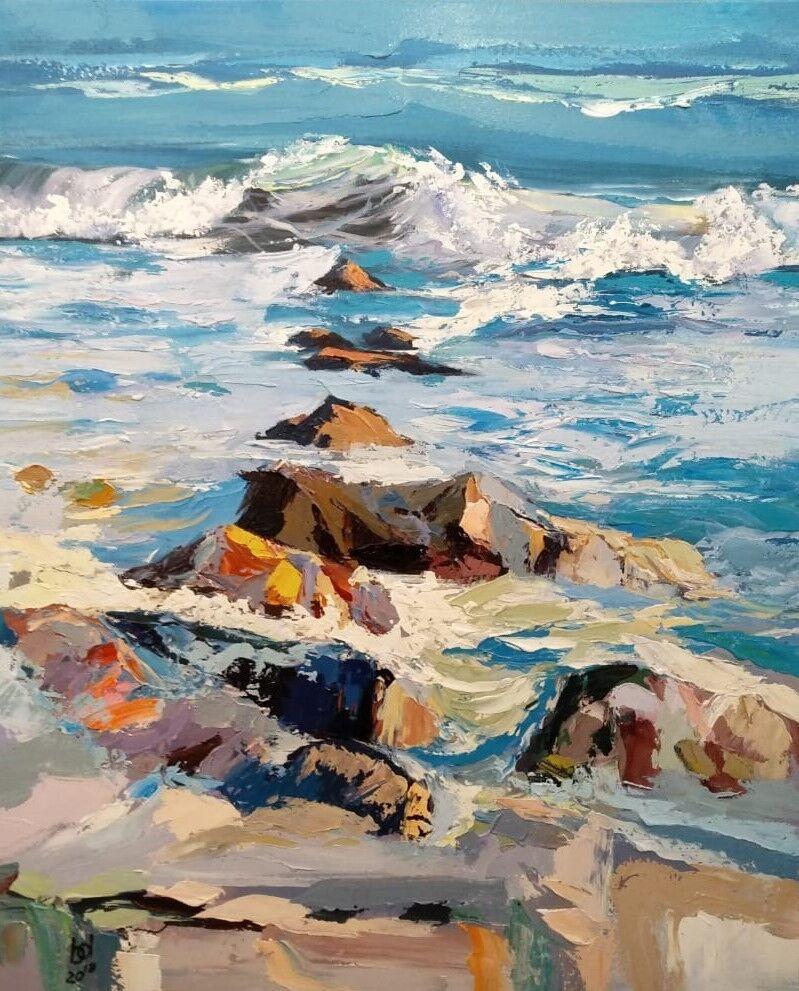 "Brian dupre. ""In the blue sea, in the foamy sea ... N3"""