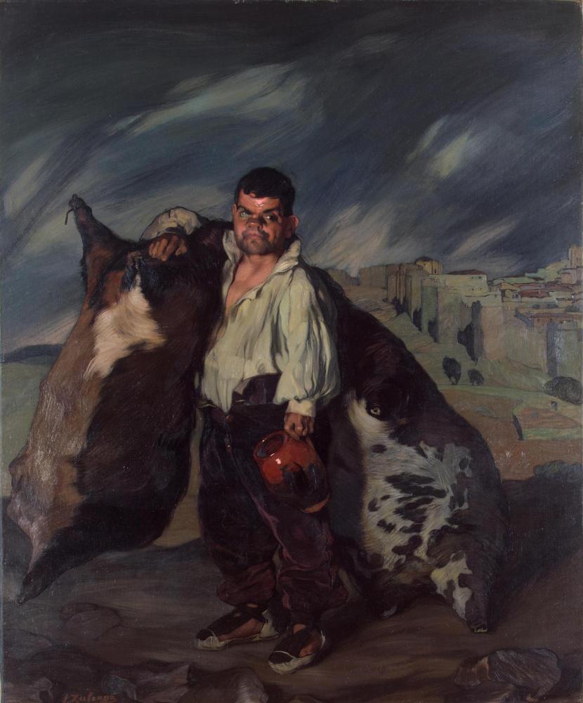 Игнасио Сулоага. Карлик Грегорио
