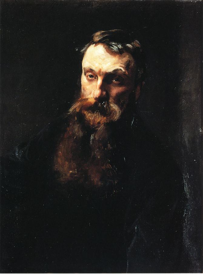 John Singer Sargent. Auguste Rodin