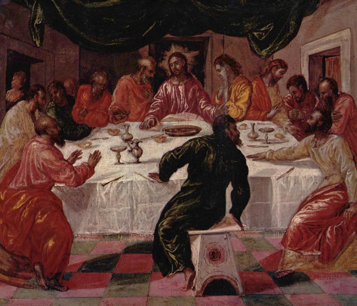 Эль Греко (Доменико Теотокопули). Тайная вечеря