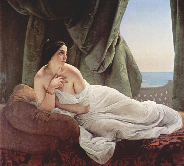 Francesco Ayets. Lying Odalisque