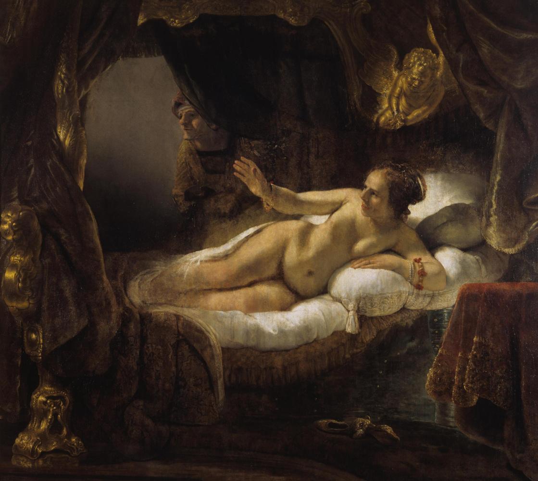 Rembrandt Harmenszoon van Rijn. Danae