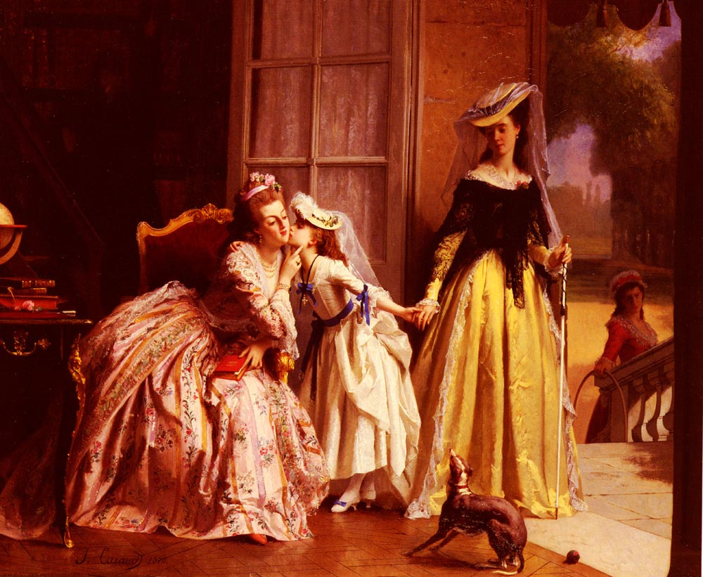 Иосиф Карауд. Королева Мария-Антуанетта и ее дочь