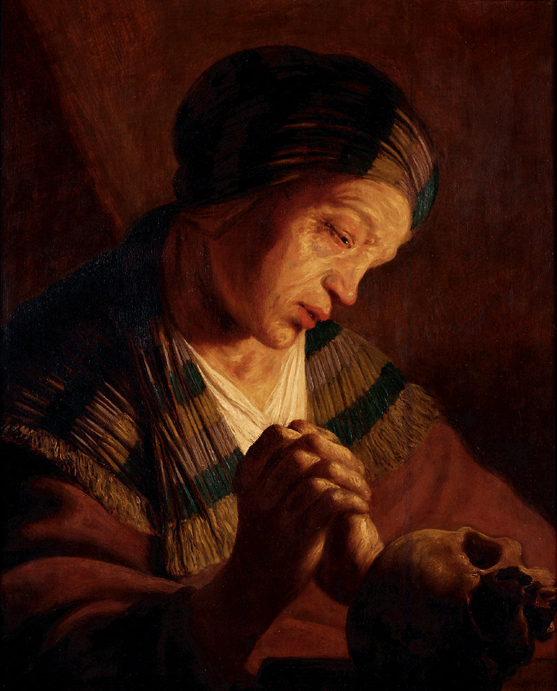 Ян Ливенс. Молитва Магдалины