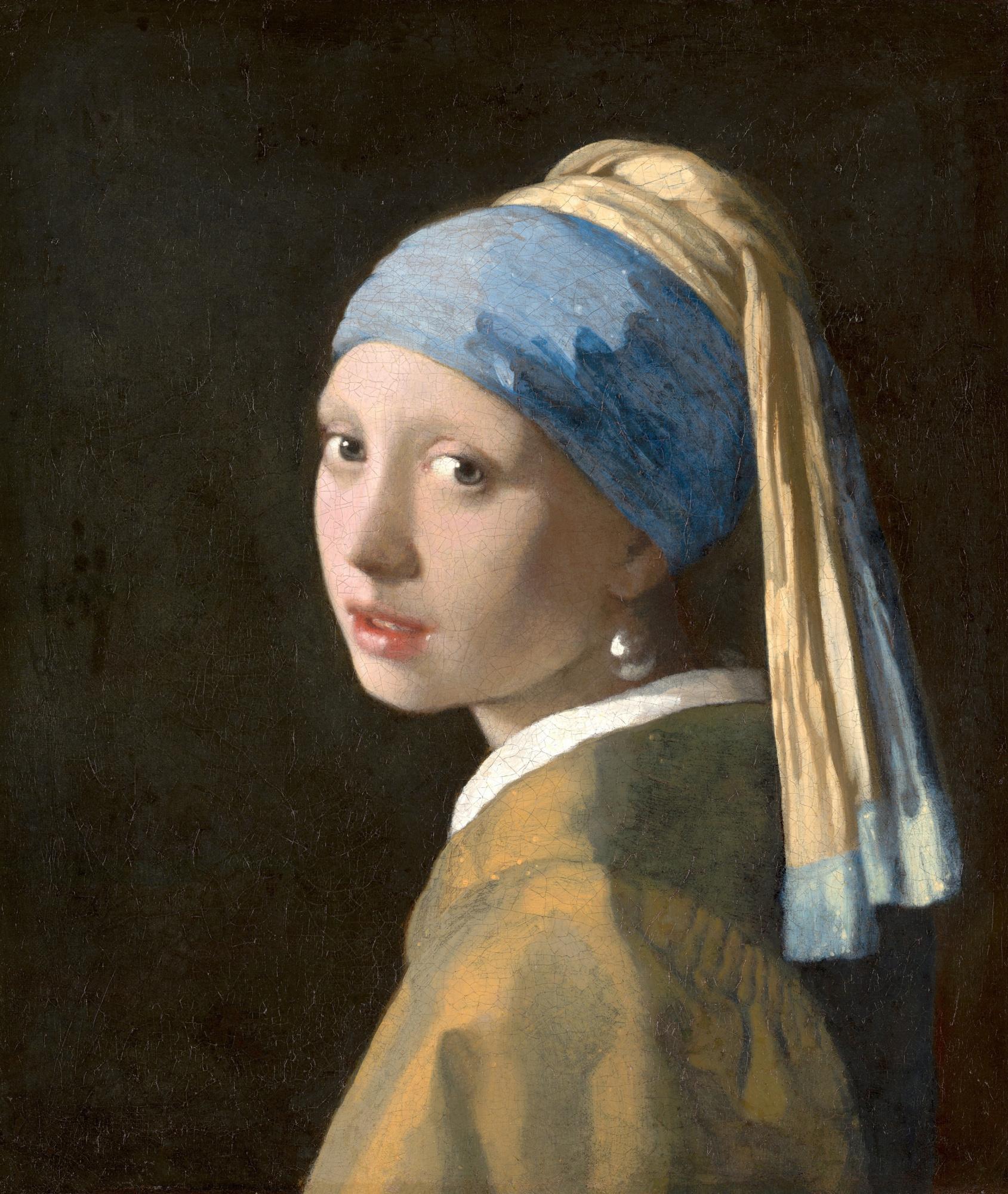 Ян Вермеер. Девушка с жемчужной серёжкой