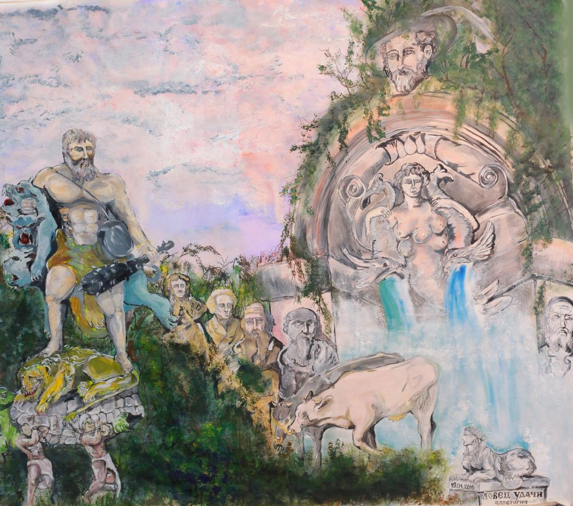 """Дмитрий Юрьевич Буянов. The Allegory Of A """"Seeker Of Fortune"""""""