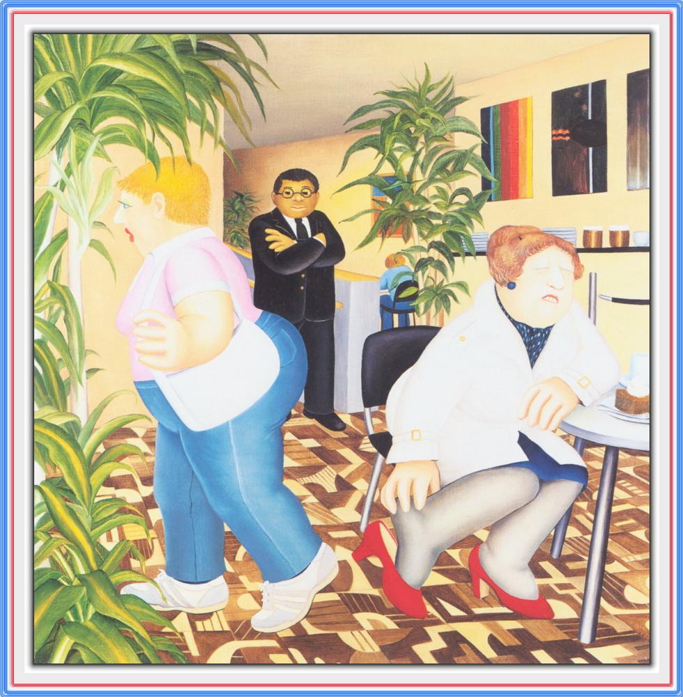 Beryl Cook. The Museum of modern art