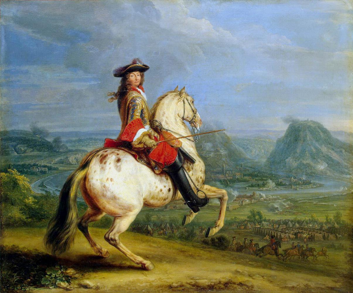 Ван Мейлен. Людовик XIV при взятии Безансона
