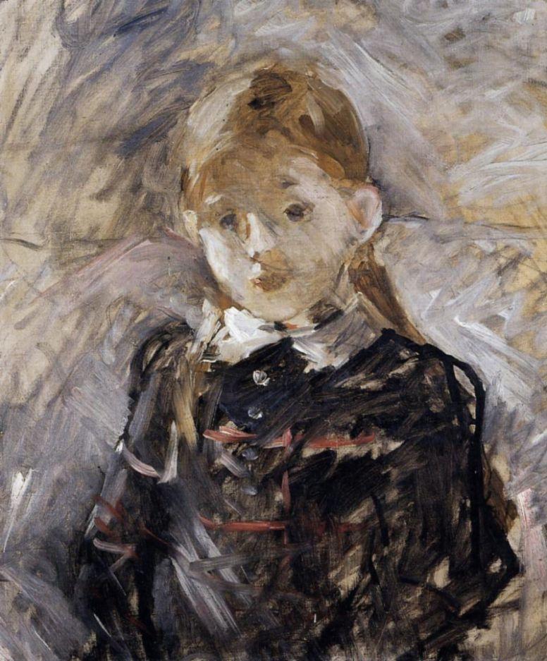 Берта Моризо. Маленькая девочка с белокурыми волосами