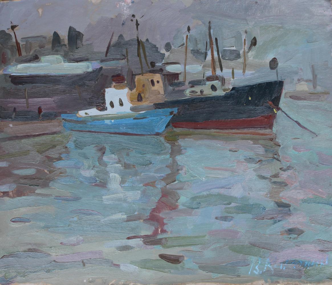 Vyacheslav Dmitrievich Karelin. Ships