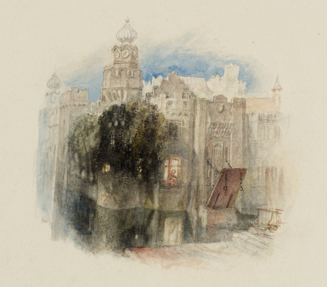 """Joseph Mallord William Turner. The capture for """"Poems"""" Rogers"""