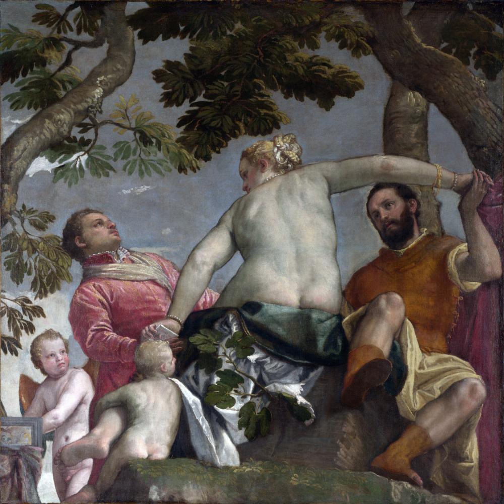 Paolo Veronese. Allegory of love. Treason