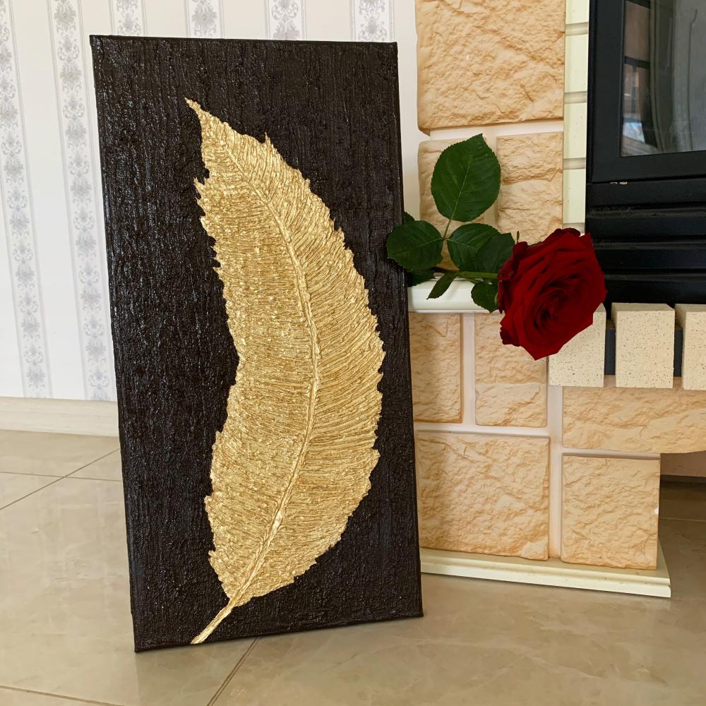 Susana Kochesok. Golden feather