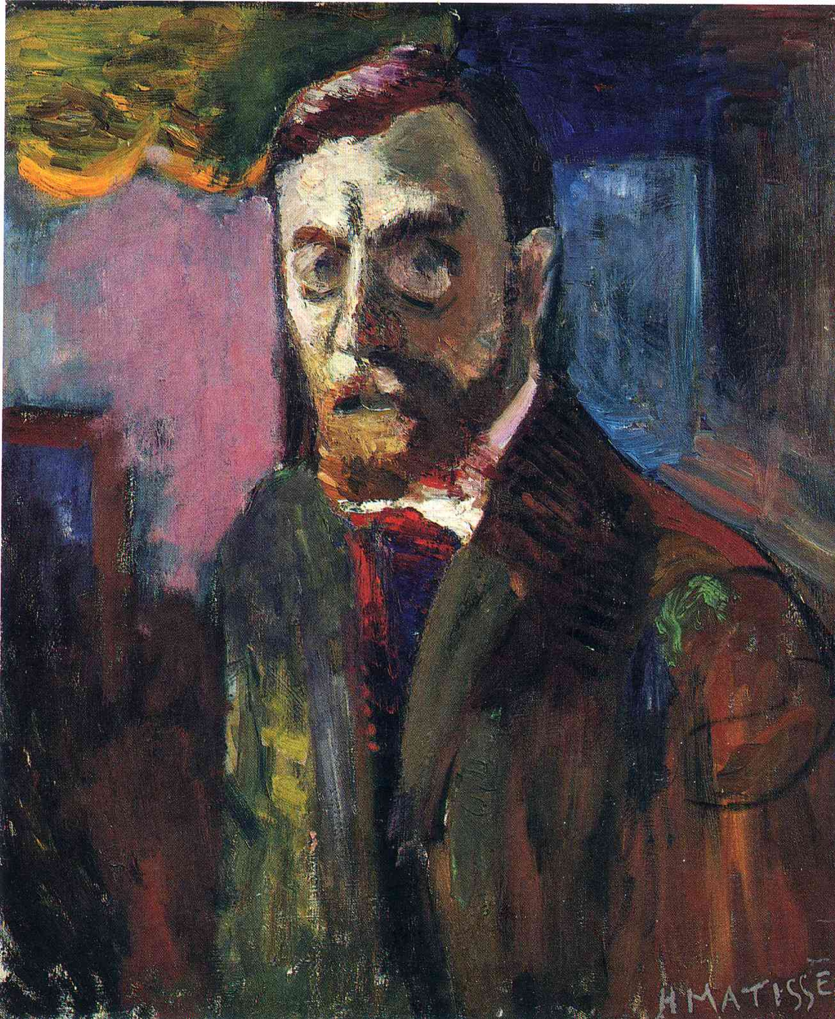 Henri Matisse. Self-portrait