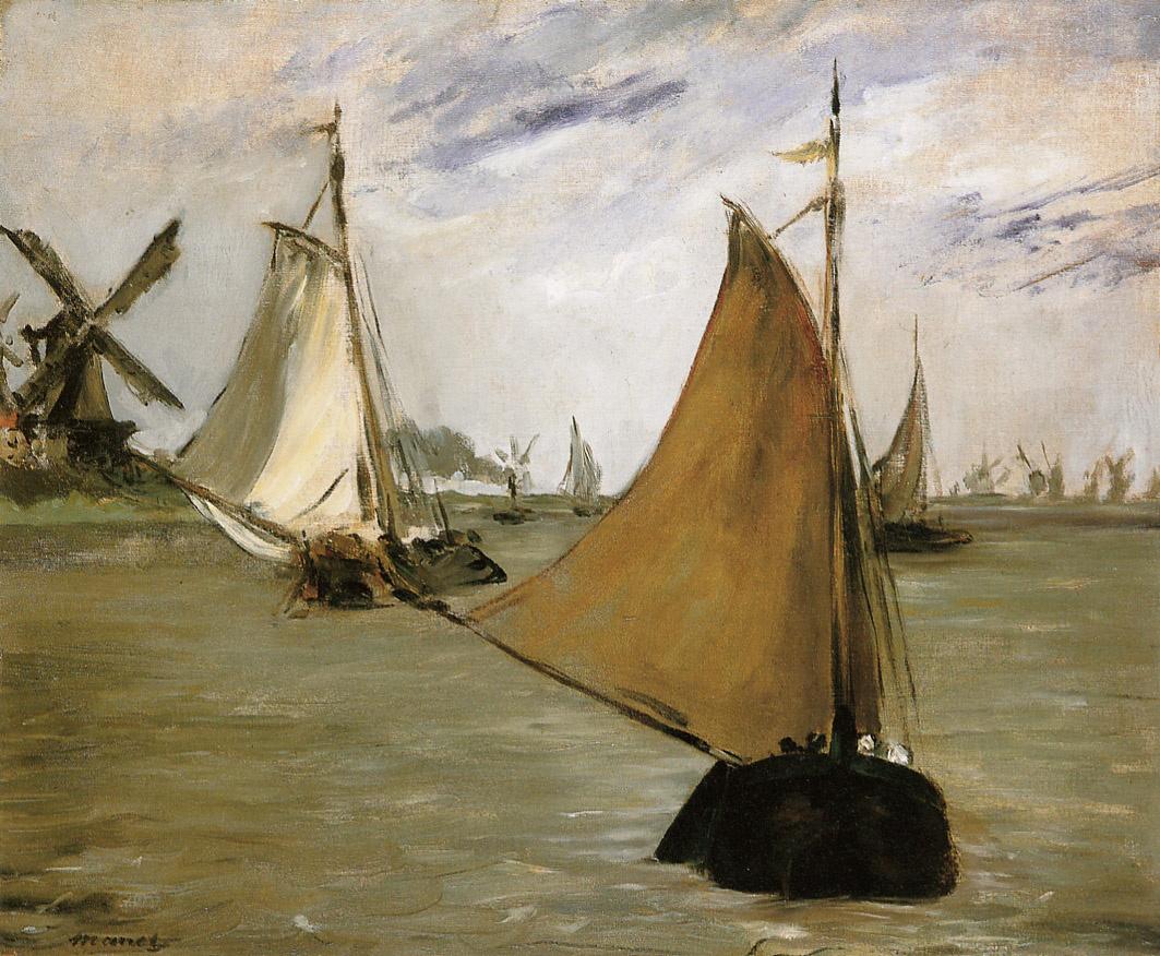 Edouard Manet. View Holland