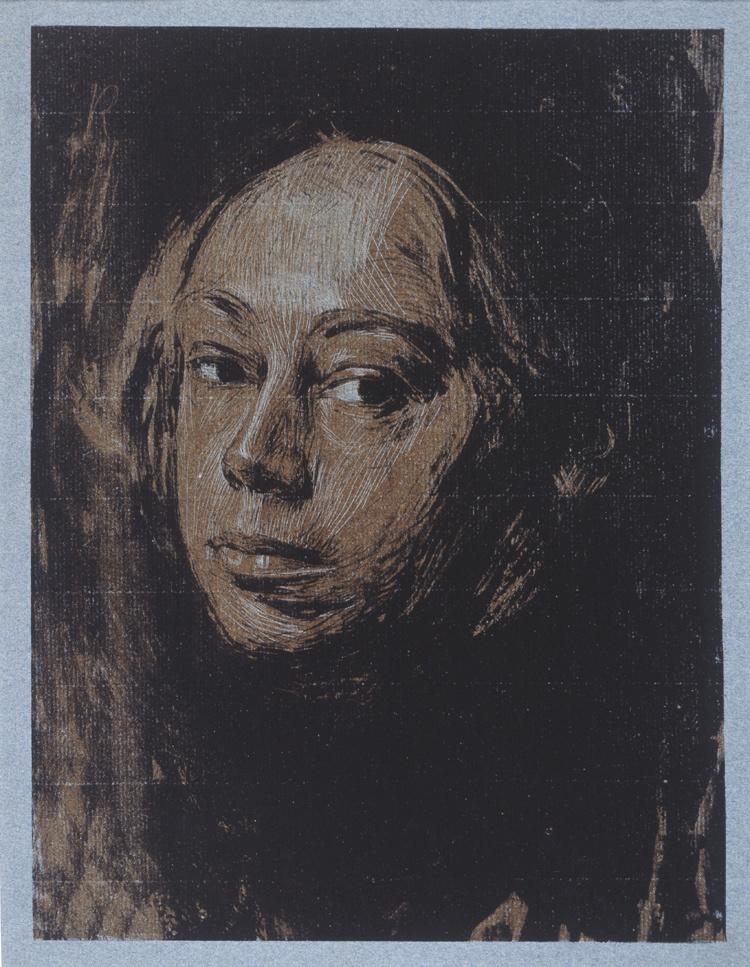 Käthe Kollwitz. Self-portrait