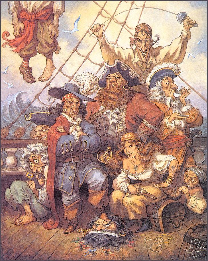 Питер де Сев. Пираты