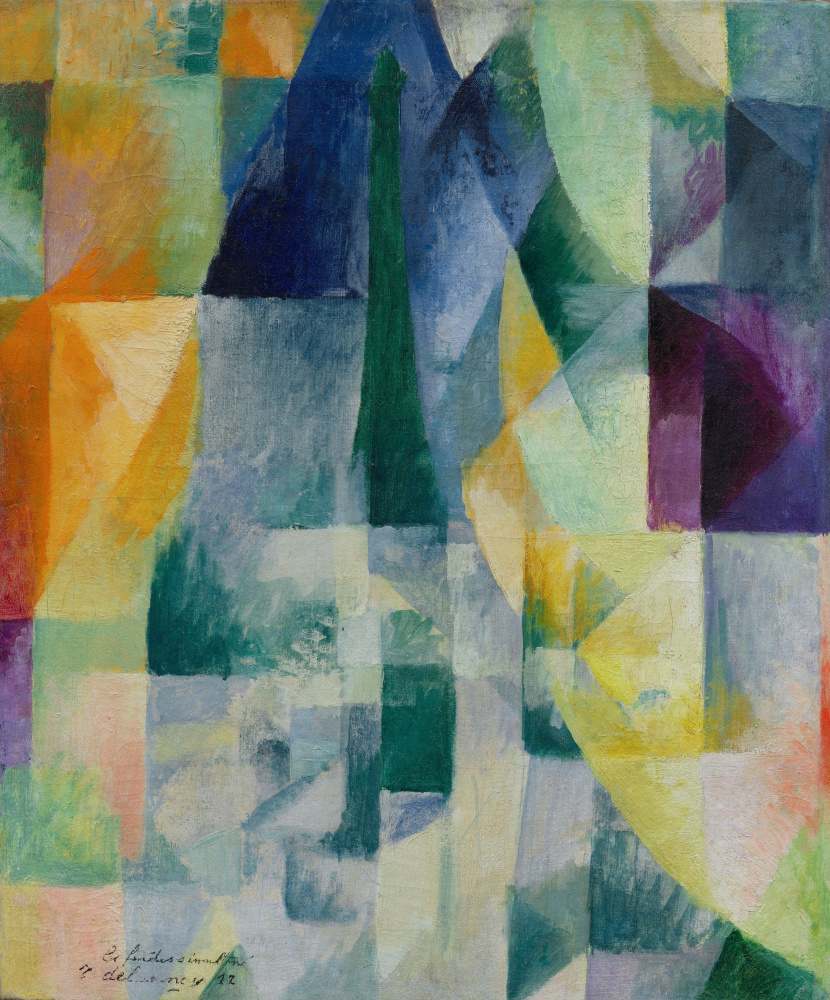 Robert Delaunay. Simultaneous Windows (Simultaneously open Windows)