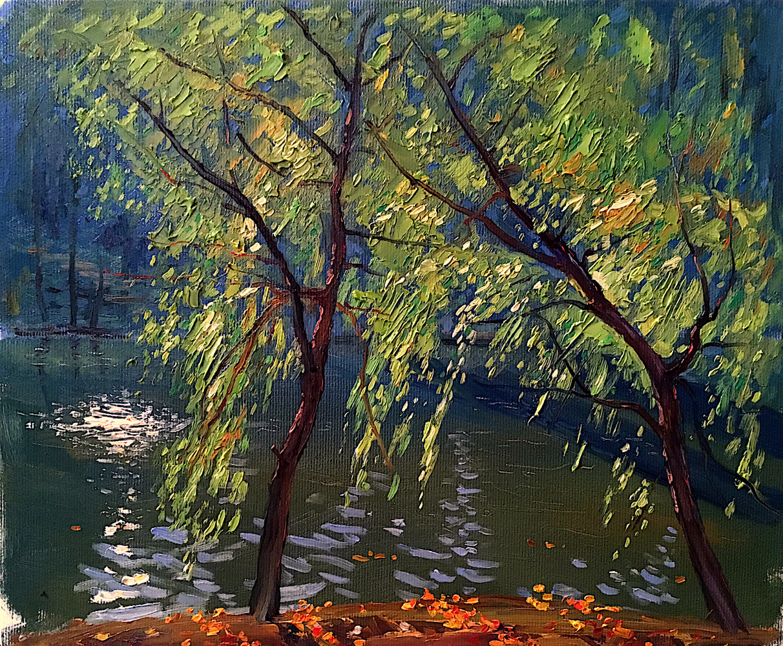 Andrey Vladimirovich Sidorin. Borisov pond