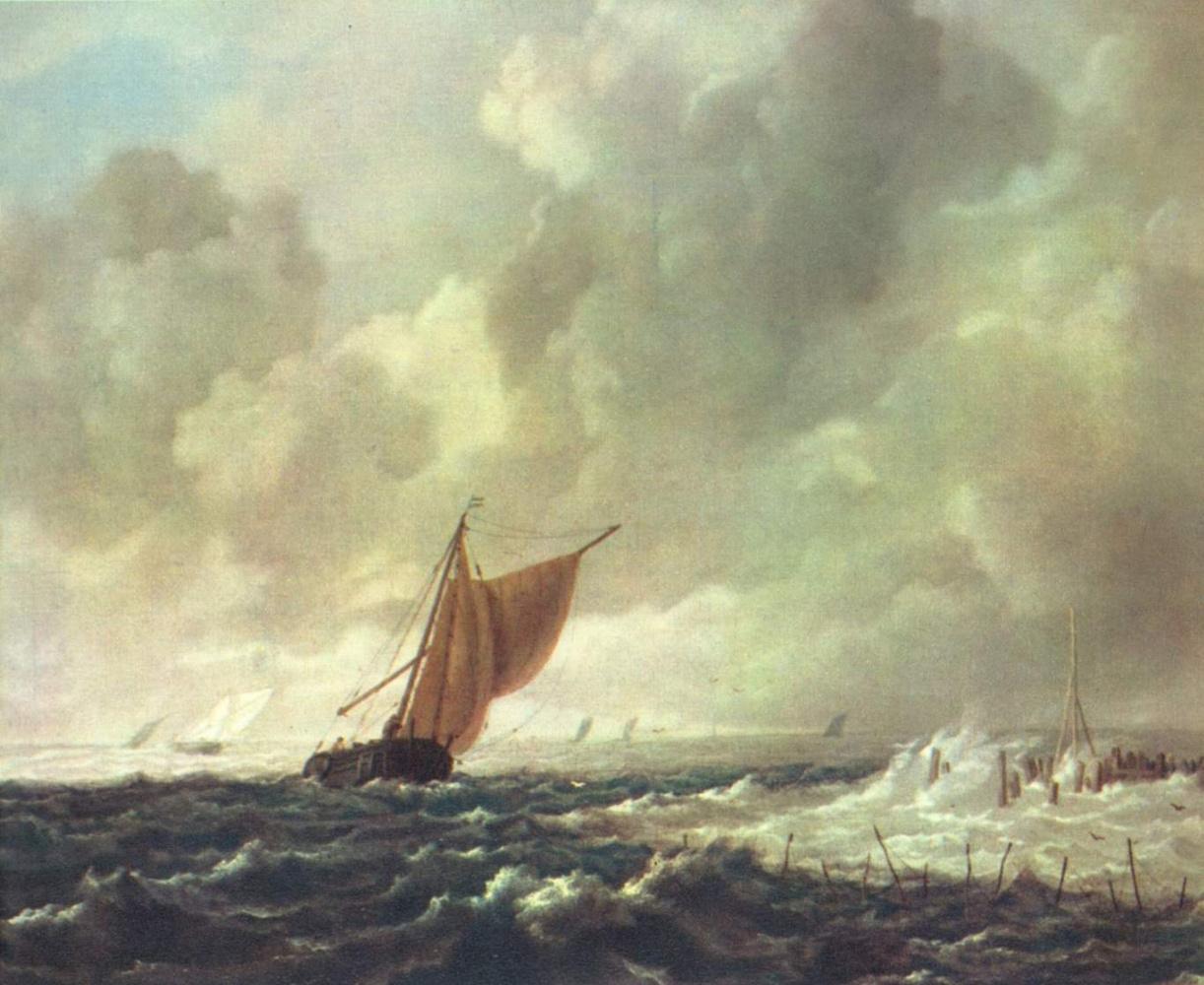 Якоб Исаакс ван Рейсдал. Морской пейзаж