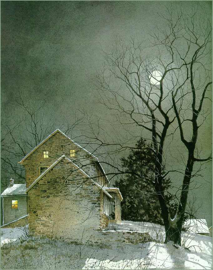 Ray Hendershot. Late in the evening