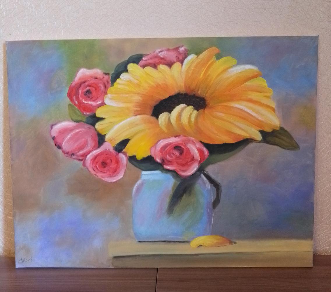 Tatiana Alekseevna Sinyakina. Sunflower