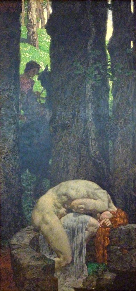 Александр Ротхауг. Брошенная русалка. 1932